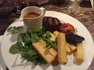 Steak night fillet steak