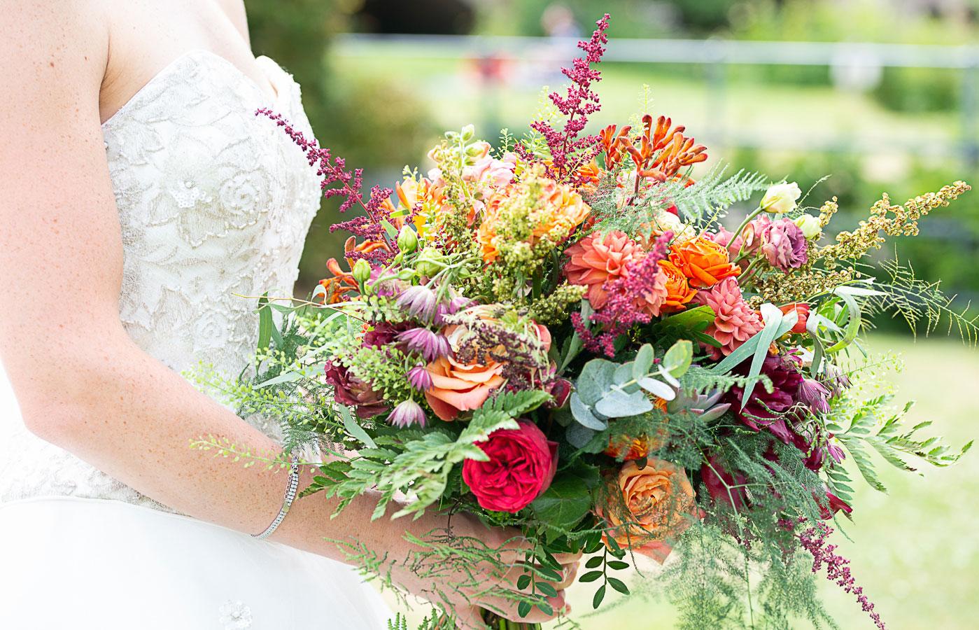 Berkshire-Wedding_Bride-with-Bouquet