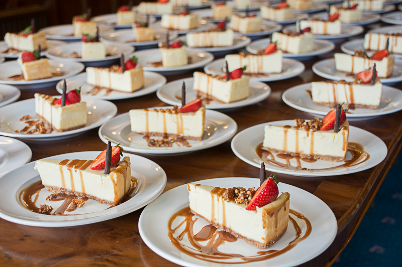 Wedding dessert cheesecake
