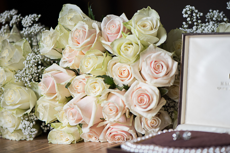Brides flower boquet